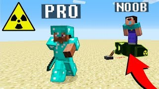 Download Minecraft Noob vs. Pro : NUKE BOMB TNT challenge nuclear explosion - Minecraft Battle - Florie Video