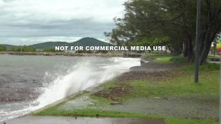 Download Cyclone Debbie High Tide And Strengthening Winds Video