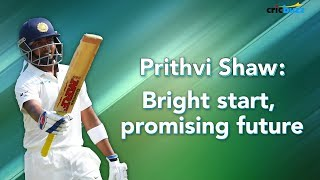 Download Prithvi Shaw is not the old-school Mumbai batsman but a new-India batsman - Harsha Bhogle Video