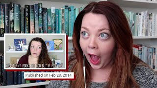 Download Reacting to & Redoing My First Booktube Video Video