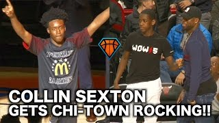 Download Collin Sexton Had Dwyane Wade & Chicago Going CRAZY During the McDonald's All-American Game!! Video