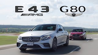 Download 2018 Genesis G80 Sport vs Mercedes E43 AMG Review Video