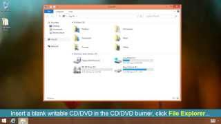 Download How To Burn a CD or DVD on Windows 8 Video