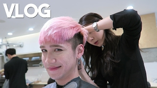 Download Getting a Haircut in Apgujeong lol || Vlog - Edward Avila Video