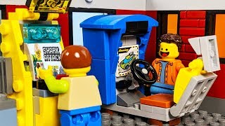 Download LEGO Arcade Game - Shark Attack STOP MOTION LEGO City Shark Attack Fail   LEGO City   Billy Bricks Video