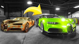 Download Fixing a $2,200,000 BUGATTI Chiron! (Car Mechanic Simulator) Video
