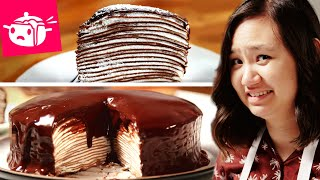 Download I Tried To Make This Chocolate Crepe Cake Video
