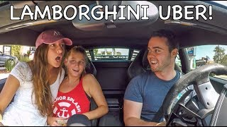 Download Picking Up UBER Riders In A Lamborghini! Video