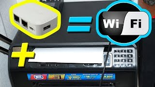 High Power! OPENWRT WLAN Wi-Fi Mini Wireless Router USB/Print Server