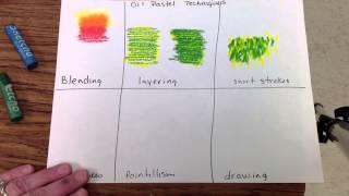 Download Oil Pastel techniques Video