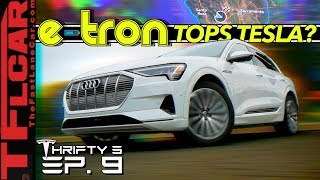 Download Here's How The New Audi e-tron Beats Tesla at Its Own Game...OR Does it? - Thrifty 3 Ep.9 Video
