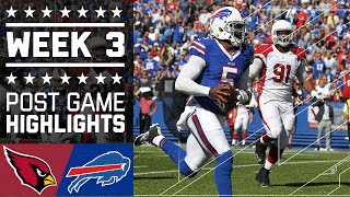 Download Cardinals vs. Bills | NFL Week 3 Game Highlights Video