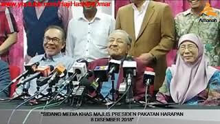 Download GEMPAK!! Sidang Khas Tun Dr Mahathir Bersama Majlis Presiden Pakatan Harapan Video