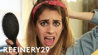 Download 2 Weeks Of Not Washing My Hair Challenge | Try Living With Lucie | Refinery29 Video
