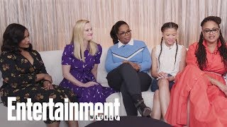Download 'A Wrinkle In Time' Stars Praise Each Other, Discuss Film's Impact & More | Entertainment Weekly Video