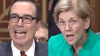 Download Elizabeth Warren CRUSHES Steven Mnuchin for Refusing to Regulate His Big Banker Cronies Video