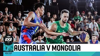 Download Australia v Mongolia - Final - Men's Full Game - FIBA 3x3 Asia Cup 2018 Video