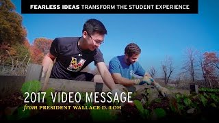 Download President Loh | Transform the Student Experience Video