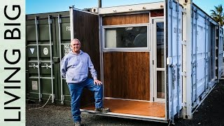 Download Boat Builder's Incredible 20ft Shipping Container Home Video
