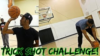 Download YOUTUBER IRL TRICK SHOT CHALLENGE WITH iMAV JUICE AND KOUP! 360 LAYUPS, HALF COURT SHOTS, AND MORE! Video