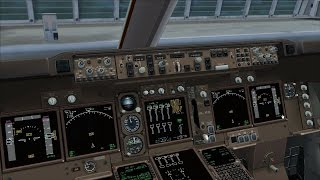 Prepar3D V3 4 - PMDG 747 V3 - JetStream's LIML - Fog - go