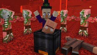 Download Minecraft Mobs Life - Minecraft animation Video