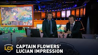 Download Captain Flowers Does His Best Lucian Impression Video