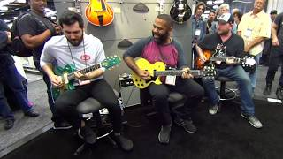 Download Funk Jam w/ Josh Smith, Kirk Fletcher and Ariel Posen at NAMM 2018 Video
