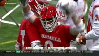 Download Highlights: Cornell MLAX at Syracuse - NCAA 1st Rd - 5/13/18 Video