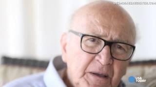 Download Holocaust survivor recalls the lie that saved his life Video
