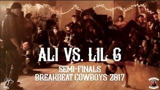 Download Ali vs Lil G | Semi-Finals | Breakbeat Cowboys 2017 | #SXSTV Video