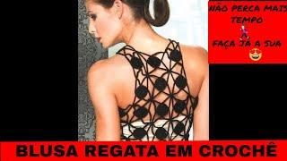 Download Blusa regata em crochê com Viviane Santos Video