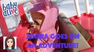 Download Baby Alive Zinnia Goes On An Adventure! Video