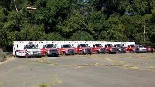 Download ABANDONED CAR TOWN ( tons of abandoned fire trucks and ambulances ) Video