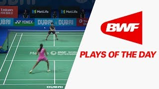 Download Plays Of The Day | Badminton F – Dubai World Superseries Finals 2017 Video
