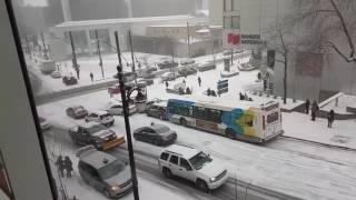 Download Первый снег в Монреале. Канада) Video