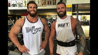 Download MY BEARDED TWIN, first HEAVY CHEST workout Ft PARKER PHYSIQUE Video