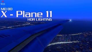 X-Plane 11  Updated A320 (v3 0b2) landing at EGNT  xEnviro  Free