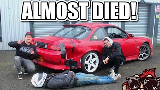 Download 🐒 I CRASHED MY S14! FIRST DRIFT DAY IN MY 200SX Video