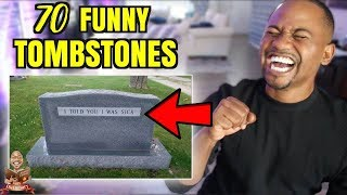 Download The TOP 70 FUNNIEST Tombstones EVER | Alonzo Lerone Video