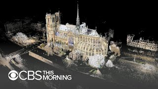 Download 3D scans of Notre Dame could prove pivotal in its reconstruction Video