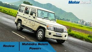 Download 2016 Mahindra Bolero Power+ Review | MotorBeam Video