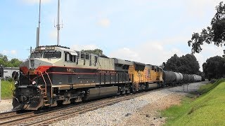 Download NS 177 with Central of Ga heritage on the point in Stockbridge, Ga. Video