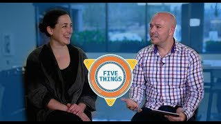Download #FiveThings About Visual Studio Code {S:01 Ep: 08} Video