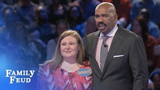 Download The Roch family plays Fast Money! | Family Feud Video