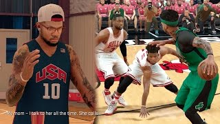 Download NBA 2k17 MyCAREER Playoffs - Major Book Interview! Deep Step Back 3's + 5 Ankle Breakers! SFG3 Ep 98 Video