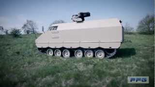 Download PMMC G5 Protected Mission Module Carrier G5 tracked vehicle FFG Germany German defence industry Video