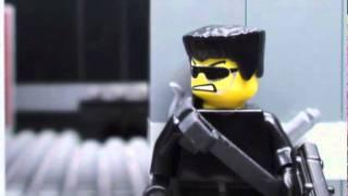 Download Nhân vật LEGO cũng biết bắn súng Video