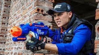 Download LTT Game Nerf War : Winter Warriors SEAL X Nerf Guns Fight Criminal Group Rocket Intruder Clever Video