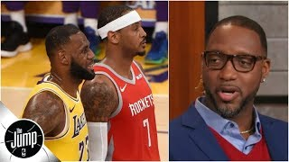 Download What LeBron James' dinner with Carmelo Anthony means, according to Tracy McGrady | The Jump Video